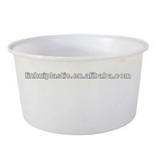 plastic round barrel stackable
