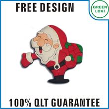 Free design Japan quality standard christmas pvc fridge magnet