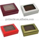 Custom package design food packaging boxes cardboard window