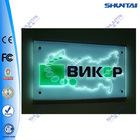 customized crystal window display led light box advertising