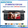 ZESTECH DVD Supplier 2 Din Touch Screen Car Accessories for BMW E46 M3 325 Car Accessories with DVD GPS Navigation 1998-2006