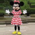 adulto minnie mascote fantasia minnie mouse roupa dos desenhos animados