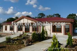 Prefabricated villa fast kit homes Steel luxury house