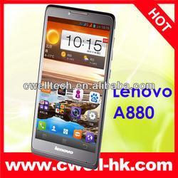 Lenovo A880 MTK6582 Smartphone 6 Inch IPS Screen Quad Core 1GB RAM 8GB ROM Android 4.2 5.0MP Camera WIFI GPS
