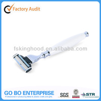 Producer shaving products 3 blades razor head razor handle razor