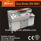 18 year Boway 988V holt-melt perfect binder automatic