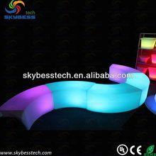 Light seat/Led bench lighting/garden outdoor furniture led