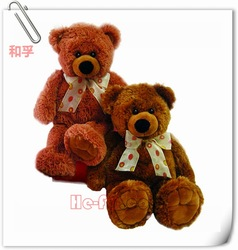 Valentine Plush Toy Teddy Bear With Tie