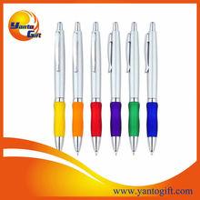 Metallic plastic pen