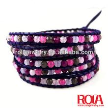 Gold bangles latest designs black gem & rhinestone decorated bangle