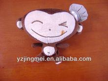 6 inch small plush monkey toys