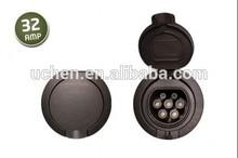 iec 62196-2 ev 7-pin dust plug/16A 32A electric car hybrid/socket-oulet