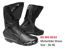 Men`s Leather Riding Shoes, Motorcycle Riding Shoes