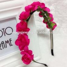 Flower Halo Flower Crown Floral Headband