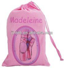 high quality satin shoe bag drawstring bag gift bag
