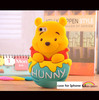 3D bear cell phone case for Iphone 4/4S/5/5S silicone bear phone cover