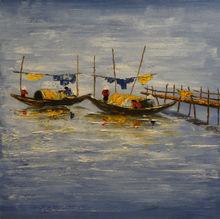 Viet Nam landscape oil painting