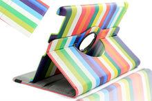 SANOXY Rainbow CASE WITH 360 ROTATION FOR Ipad2/3/4 (Rainbow)