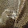 leopard foil coating suede sofa fabirc