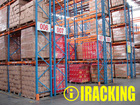 Heavy Duty Palleting Rack System for Industrial Warehouse Storage Solutions (IRA)
