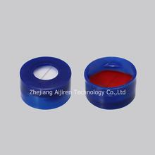 pre-slit 11mm Septa and blue snap cap for HPLC(SC1022102)