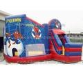 bambini salto castello gioco con spiderman giocattoli