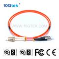 A fc conector lc multimodo om1 62.5/125um upc/dúplex pc cable de fibra parche