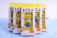 cartoon minions despicable me 2 case for iphone 5 soft silicon case