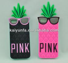 VS secret cell phone case for Iphone 4,5, summer pineapple cell phone case
