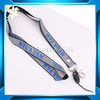 custom polyester high-quality lanyard with ID card holder no minimum order