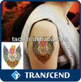 Adesivo tatuaggio angelo/tatuaggio adesivo customed/eco- Amichevole autoadesivo del tatuaggio temporaneo