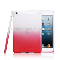 for tablet ipad mini case shockproof, dirtproof, impact free soft gel cover for ipad mini 1 & 2
