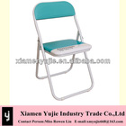 factory price green/yellow/black/orange Panton Branded Folding Chairs with high quality