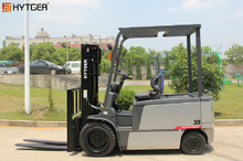 Low price HYTGER 3.5-4 ton hyundai hydraulic electric forklift