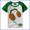 2014 hip hop t-shirt in plain round neck t-shirt design kids cartton t-shirt for boys t-shirt