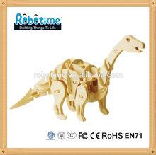 Robotime 3D Educational Wooden Puzzle Toy Dinosaur Apatosaurus