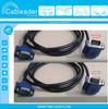 Up Angle VGA &Down Angle VGA Cable, HD15 Male to Male Factory&Supplier&Manufacturer