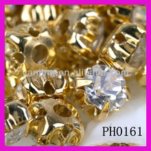 glass stone with claw ,factory direct provide