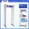 0-99 ayarlanabilir( 8 bölge/10 bölge) kamu güvenliği metal detektörü ile yürümek/kapı çerçevesi metal dedektörü fiyat mcd-800c