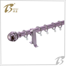 2014 new design of window curtain rod decoration