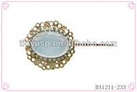 Hair clasp barrette hair clip,handmade barrettes,metal french barrettes