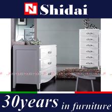 high end dresser / girl dressers / wooden dresser with mirror T-33