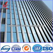 De construction en aluminium profils, profils en aluminium extrudé 6060 t 5, fabricants presse à extrusion d'aluminium