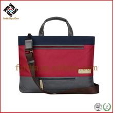 Preppy Style Nylon Shoulder Bag for 14.1 inch Laptop