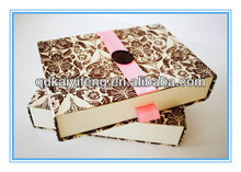 Customzied new design disk chocolate for gift packing box