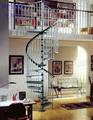 A construção de interiores açoinoxidável espiral escadas escadas( pr- s19)