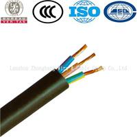 Copper Conductor EPR/Neoprene/Rubber Super Flexible Cable H07RN-F