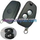 car key--Renault 2 button remote modified flip key shell