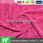 2014 new fashion sample,high quality fabric rayon/poly knitting jacquard fabric in single dye for women clothing/dress