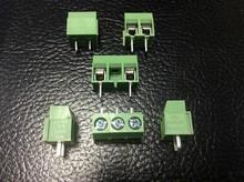 shrapnel PCB Screw Terminal GX126V-5.0-2P-3P can be spliced straight leg